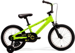 "ROWER  M-BIKE KID 16"" GREEN NEON"