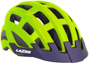 KASK ROWEROWY LAZER COMPACT COMP NEON 2021