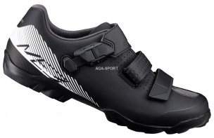 BUTY ROWEROWE SPD SHIMANO SH-ME300 BL/WH 2018 M089