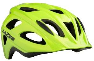 KASK ROWEROWY LAZER BEAM FLASH YELLOW 2019