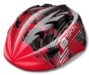 KASK ROWEROWY B-SKIN KIDY PRO BLK/RED