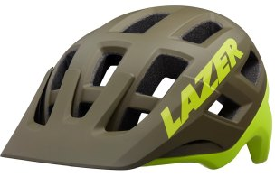 KASK ROWEROWY LAZER COYOTE MAT GREEN 2020