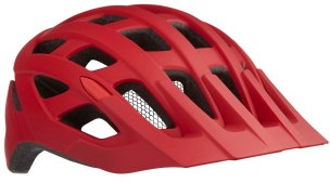 KASK ROWEROWY LAZER ROLLER RED MAT 2021