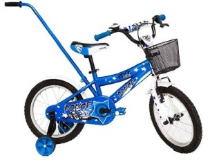 ROWER  12'' ROCK KIDS POLICE JUNIOR BLUE